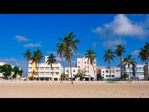 Майами-бич: культовое место мирового отдыха во время изоляции коронавируса