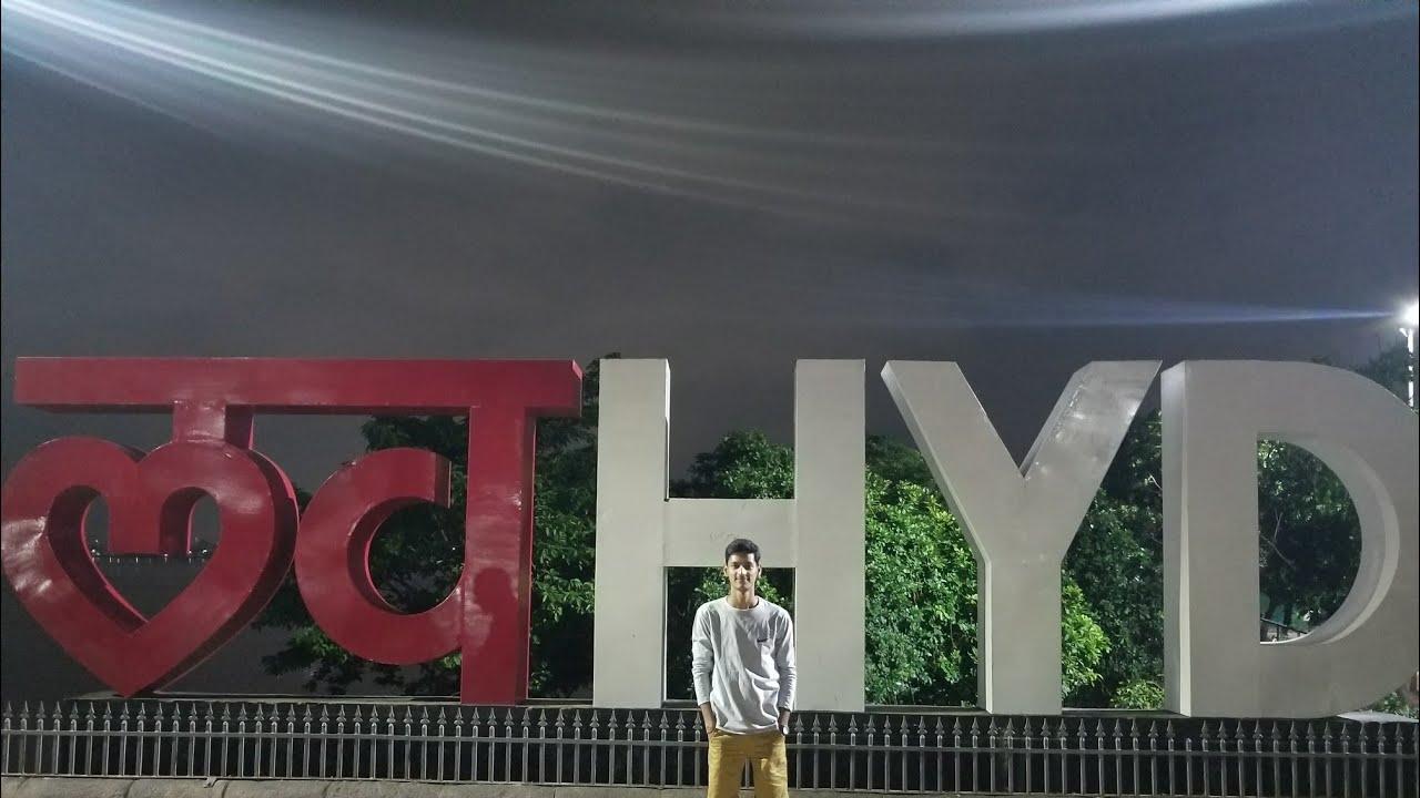 Hyderabad tour in midnight.