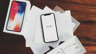 Apple iPhone X - Unboxing (Deutsch)