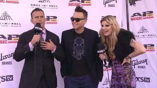 Throwback: Mark Hoppus on the 2014 APMAs red carpet