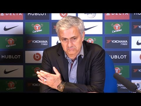 Chelsea 1-0 Manchester United - Jose Mourinho Post Match Press Conference - Premier League