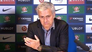 Chelsea 1-0 Manchester United - Jose Mourinho Post Match Press Conference - Premier League