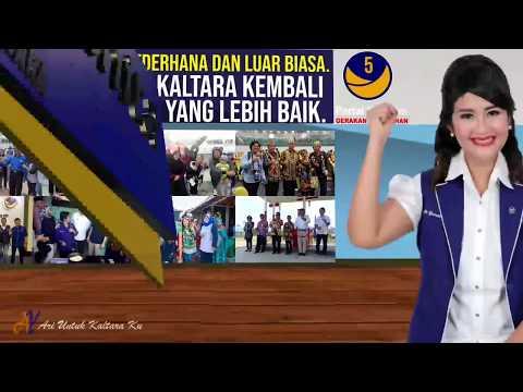 Cara Mencoblos Dr. Ari Yusnita Dapil Kaltara