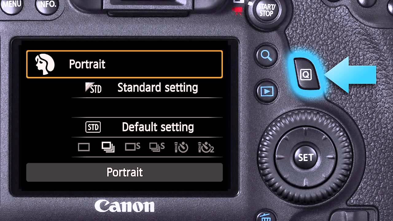 Canon EOS 6D On-Camera Tutorials - The Auto Options - YouTube