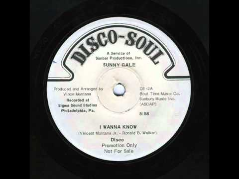 Sunny Gale - I Wanna Know - 1975