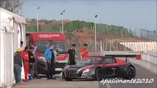 Test Luis Monzón - audi R8 GT3