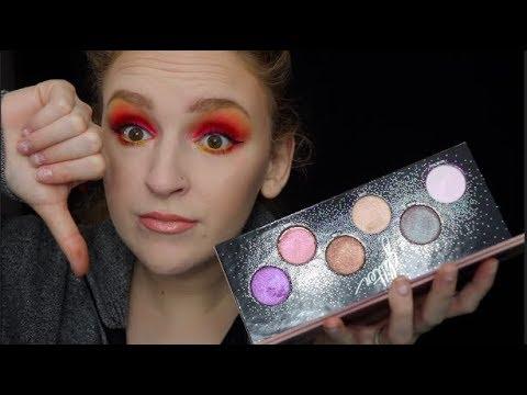 MAKEUP FOREVER STARLIT GLITTER PALETTE! | Makeup My Smile