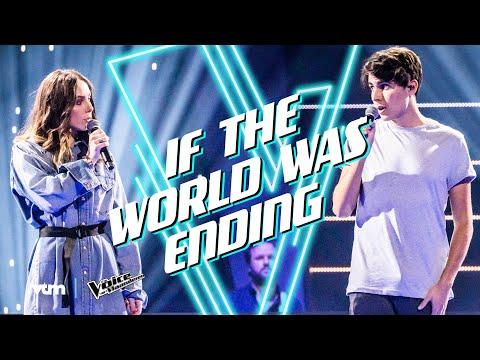Ilias vs. Laura - 'If The World Was Ending' | The Battles | The Voice van Vlaanderen | VTM