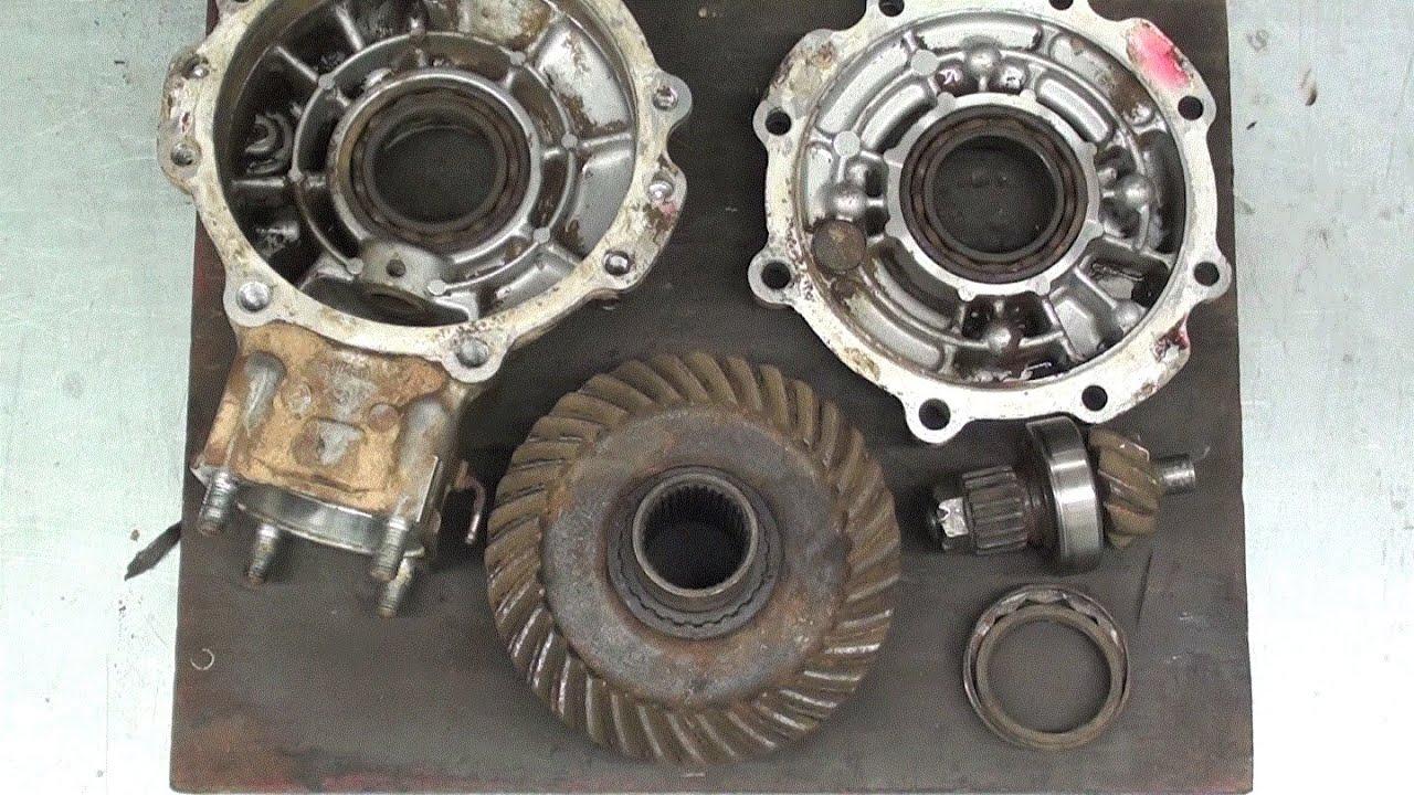 honda atv pinion bearing removal 450
