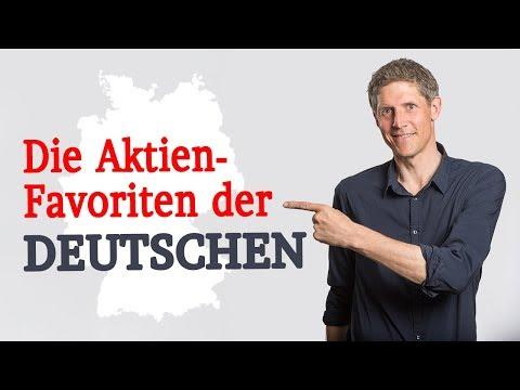 Die Aktien-Favoriten der Deutschen