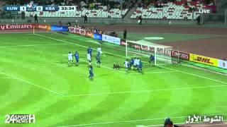ملخص مباراة: الكويت 1-0 السعودية | خليجي 21