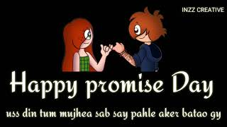 😅Promise day status, promise day whats app status, Inzz creative