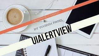 الهدف ج :- كيفية إنشاء واستخدام UiAlertVIew في دائرة الرقابة الداخلية أحدث 2017(Hindi)