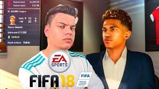 FIFA 18 - CONTRATEI UMA PROMESSA ! - MODO CARREIRA #04 ‹ PORTUGAPC ›