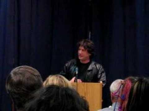 Neil Gaiman at Keplers - Sherlock Holmes/Lovecraft