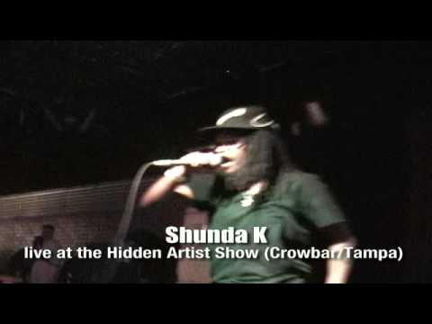 SHUNDA K LIVE AT THE HIDDEN ARTISTS SHOW IN  TAMPA!