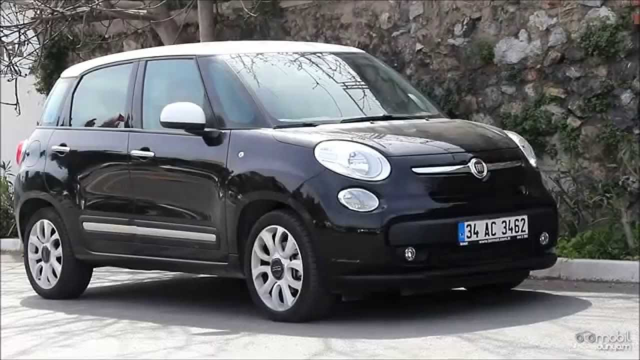test fiat 500l youtube. Black Bedroom Furniture Sets. Home Design Ideas