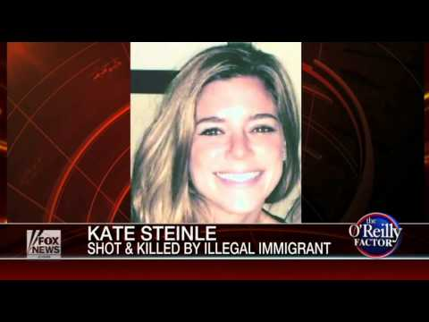 O'Reilly Explodes in Response to Woman Allegedly Killed by Illegal Immigrant