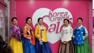 2015 0922韓國五日遊 Day 2 (光明洞窟~東大門市場~清溪川~首爾塔)