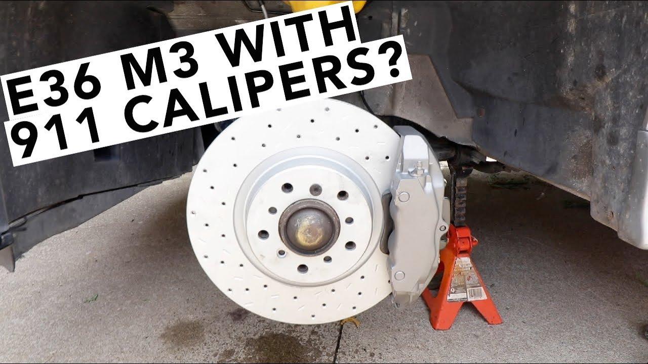 Hawk Brake Pads >> Euro Spec BMW E36 M3 Track Test & Brake Upgrades -- Part 2 - YouTube