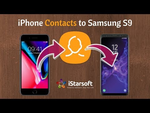Transfer Contacts from iPhone to Galaxy S5/S6/S7/S8/S9 (Plus)