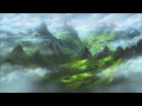 Corel painter 18: Mountain landscape (Davey Baker)