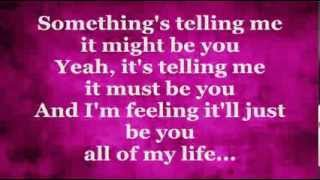 It Might Be You (Lyrics) - STEPHEN BISHOP