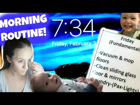 ☀️ MORNING ROUTINE | STAY AT HOME MOM!☀️