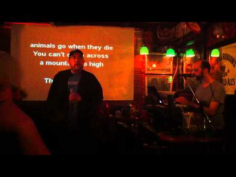 "Arcade Fire Karaoke by Marlon - ""Keep The Car Running"""