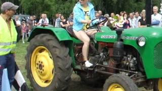 Siemiatycze TV.  Wyścigi traktorów  i samochodów w Kosiance 2011