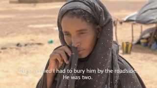 Honderdduizenden vrouwen en kinderen op de vlucht voor het geweld in Mali