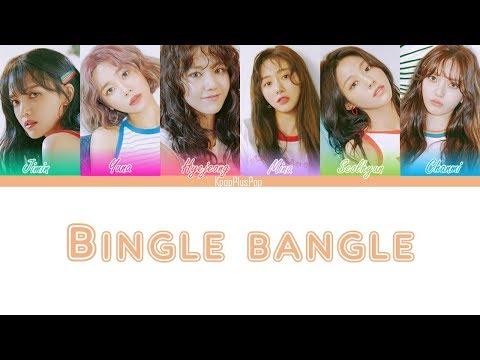 AOA - BINGLE BANGLE (빙글뱅글)(lyrics)[Han/Rom/Eng]