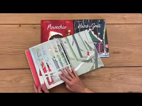 De smukkeste bøger med silhuetter - Den lille Rødhætte