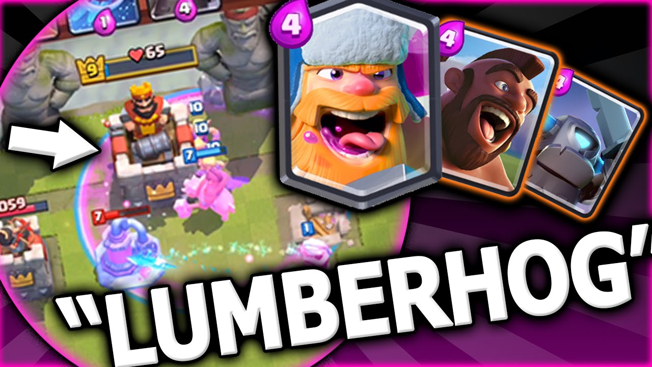 clash royale decks arena 8 youtube
