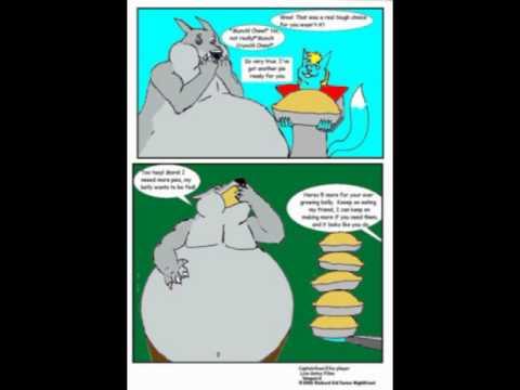 Captain Foxx Feeds Big Bad Wolf