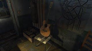 METRO Last Light on electric guitar / Tutorial with tabs. МЕТРО: Луч надежды - как играть на гитаре