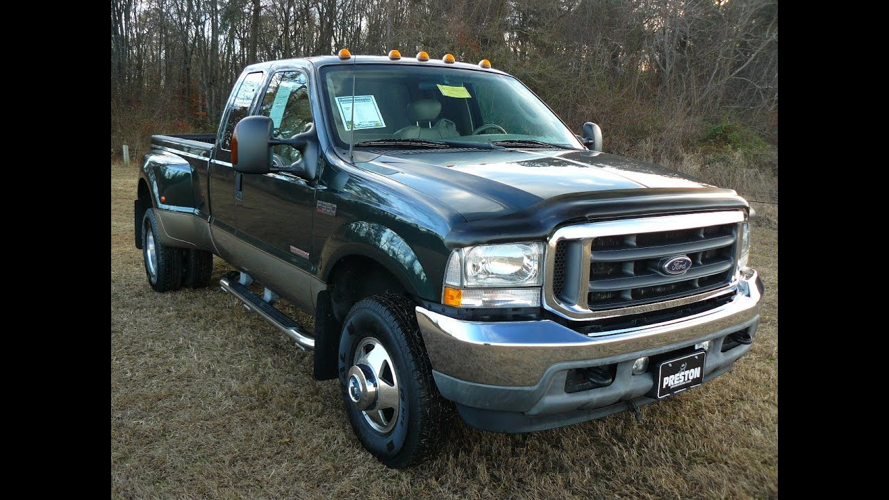 2003 ford f350 diesel dually. Black Bedroom Furniture Sets. Home Design Ideas