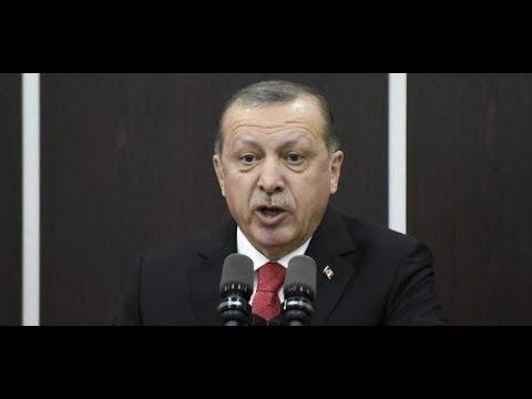 """Jerusalem-Streit: Recep Tayyip Erdogan bezeichnet Israel als """"terroristischen Staat"""""""