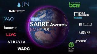 SABRE Awards EMEA 2020 Highlights