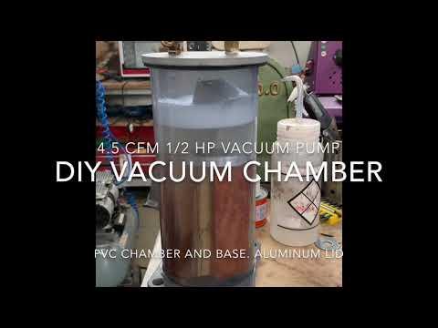 DIY Juice Proof Vacuum Chamber