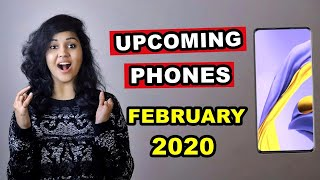 TOP 5 UPCOMING PHONES under 20,000 in FEBRUARY 2020