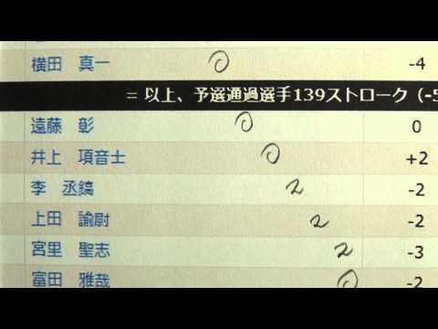 2日目 - TOSHIN GOLF TOURNAMENT IN Central 2013 - Golf Rhythm Rate