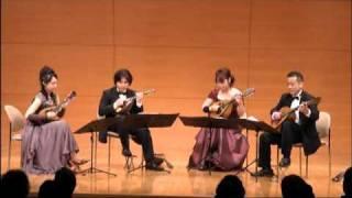 Leroy Anderson - Plink Plank Plunk - Mandolin Quartet