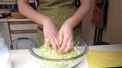 Easy Homemade Sauerkraut