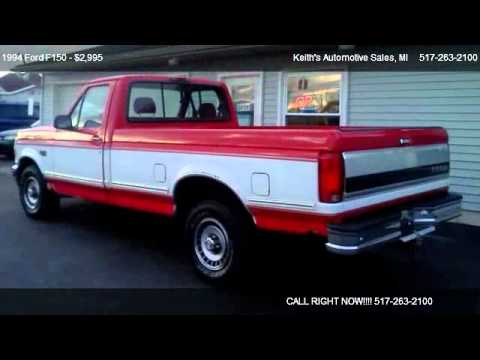 1994 Ford F150 Xl Reg Cab Long Bed 2wd For Sale In Adrian Mi