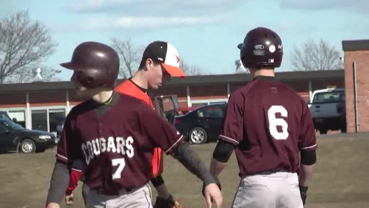 NCCS - Plattsburgh Baseball  4-17-13