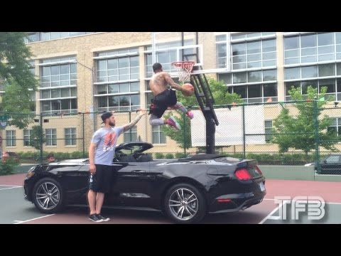 Guy Dupuy INSANE Between the Legs DUNK OVER A CAR! #SCTop10