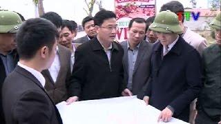 Đẩy nhanh tiến độ giải phóng mặt bằng thực hiện các dự án tại thị xã Sầm Sơn