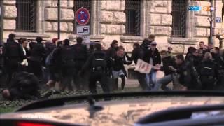 2015 04 20 MDR aktuell Verletzte bei Legida Protest