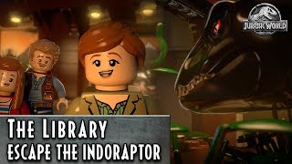 LEGO Jurassic World – Escape the Indoraptor – The Library